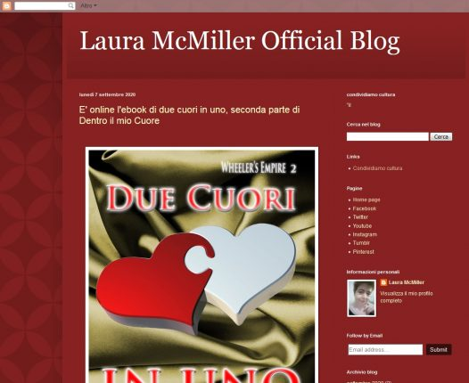 Laura McMiller Official Blog
