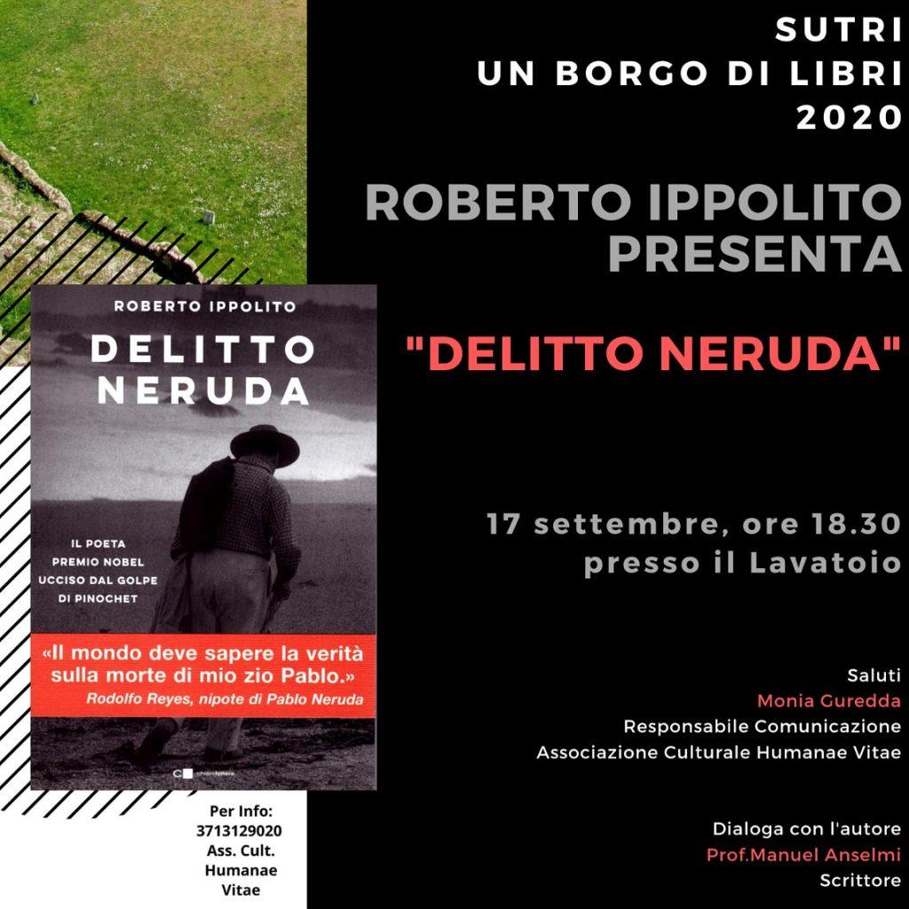 Roberto Ippolito presenta DELITTO NERUDA