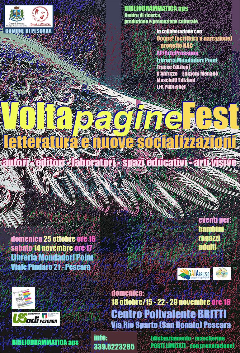 VoltapagineFest - letteratura e nuove socializzazioni