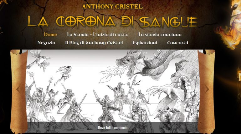 Anthony Cristel La Corona di sangue