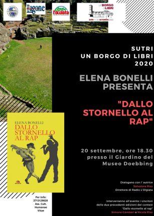 Elena Bonelli presenta DALLO STORNELLO AL RAP