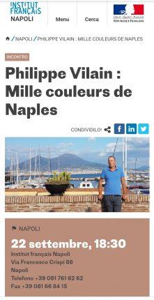 Philippe Vilain Mille couleurs de Naples