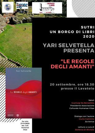 Yari Selvetella presenta LE REGOLE DEGLI AMANTI