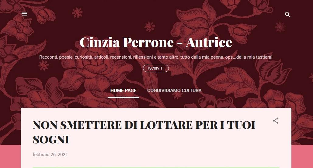Cinzia Perrone Autorice